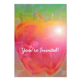 Teacher's Apple Invitation