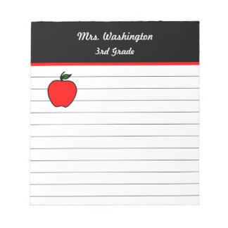 Teacher's Apple Notepad
