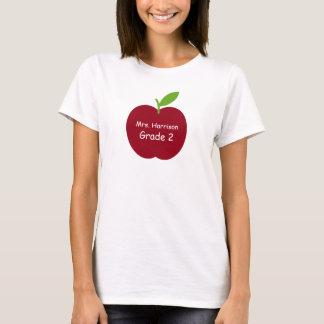 Teacher's Apple Personalized T-Shirt