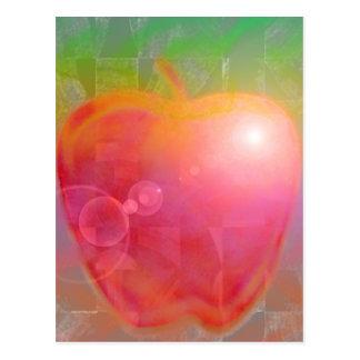 Teacher's Apple Postcard
