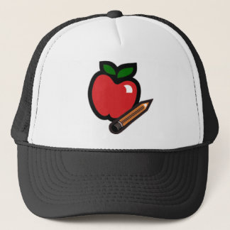 Teachers Apple Trucker Hat
