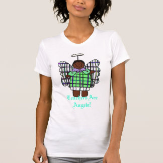 Teachers Are Angels! (African American) T Shirt