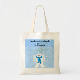 Teachers are Angels Tote Bag