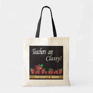Teachers are Classy  | DIY Name Budget Tote Bag