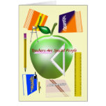 Teachers Are Special People Card