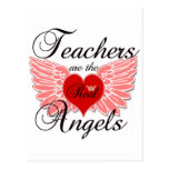 Teachers Are The Real Angels Post Cards