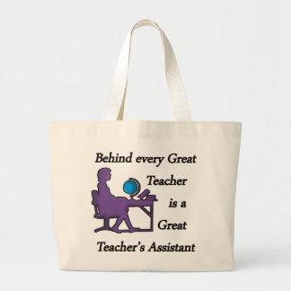 Teacher's Assistant Large Tote Bag