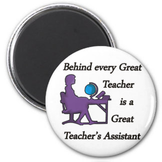 Teacher's Assistant Fridge Magnet