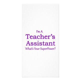 Teacher's Assistant Picture Card