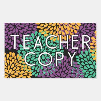 Teacher's Copy Rectangular Sticker