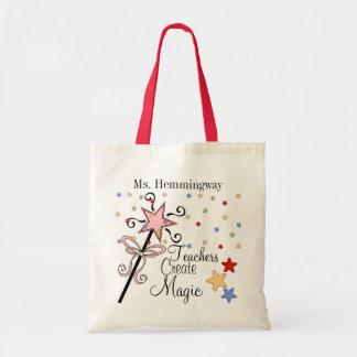 Teachers Create Magic Revised Tote Bag