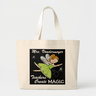 Teachers Create Magic - SRF Large Tote Bag