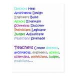 Teachers Create Postcard