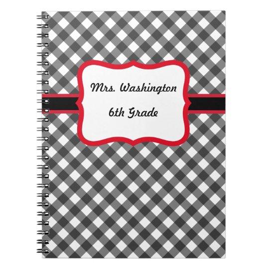 Teacher's Custom Class Notebook Gift