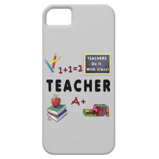Teachers Do It With Class iPhone 5 Covers