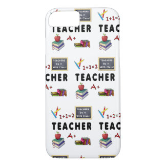 Teachers Do It With Class iPhone 8/7 Case
