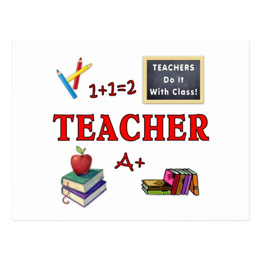 Teachers Do It With Class Post Card