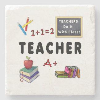 Teachers Do It With Class Stone Coaster