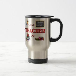 Teachers Do It With Class Travel Mug