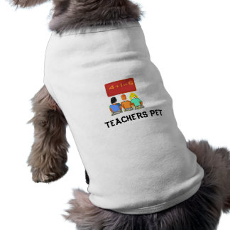 Teachers Dog coat  > Dog Coat Sleeveless Dog Shirt