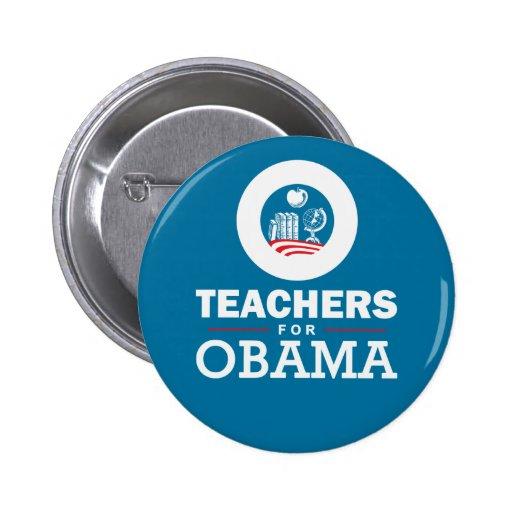 Teachers for Obama Pins