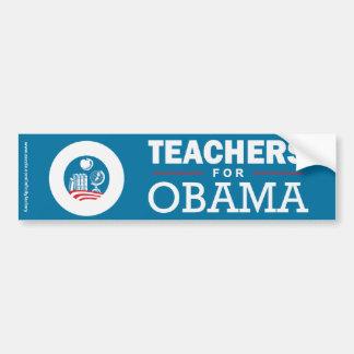 Teachers for Obama Bumper Stickers