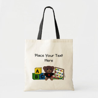Teacher's Gift Template Tote Bags