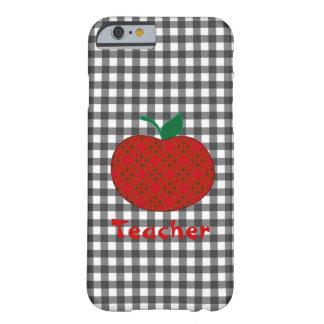 Teacher's Gingham Apple iPhone 6 case