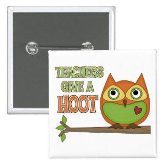 Teachers Give A Hoot Button