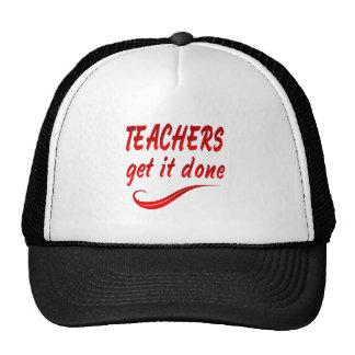 Teachers Mesh Hats