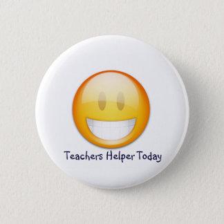 Teachers Helper! 6 Cm Round Badge
