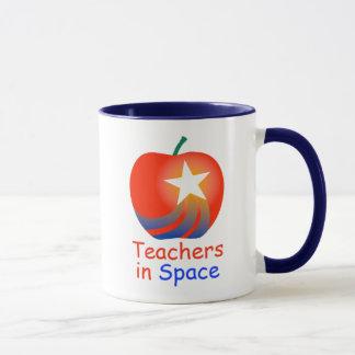 Teachers in Space Ringer Mug (Blue)