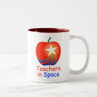 Teachers in Space Two-Tone Mug