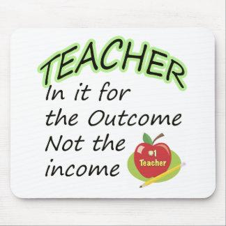 Teacher's Income Mouse Mat