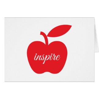 Teachers Inspire Notecard