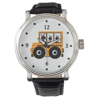 Teacher's Ladybug School Bus Watch