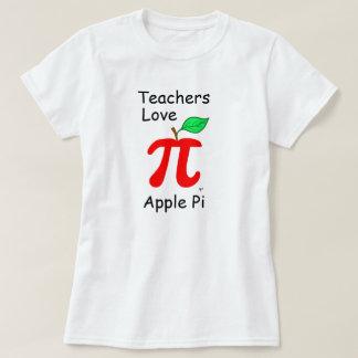 """Teachers Love Apple Pi"" T-Shirt"
