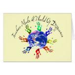 Teachers Make a World Cards