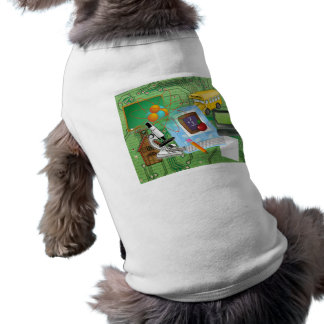 Teachers' Math & Science Sleeveless Dog Shirt
