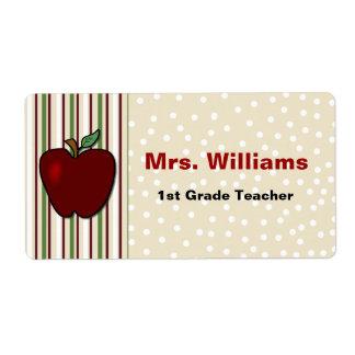 Teacher's Name Tags