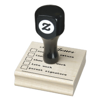 """""""Teacher's Notes"""" Rubber Stamp"""