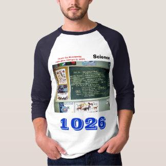 Teacher's Numbered Sports Jersey Darwin Day T-Shirt