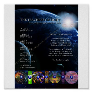 Teachers of Light - Way of Awakening Poster