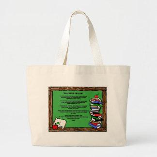 teachers prayer bags