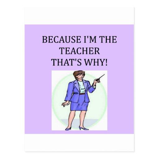 teachers & professors