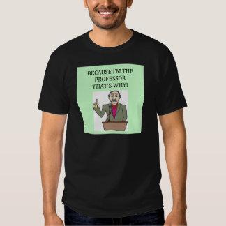 teachers & professors tee shirt