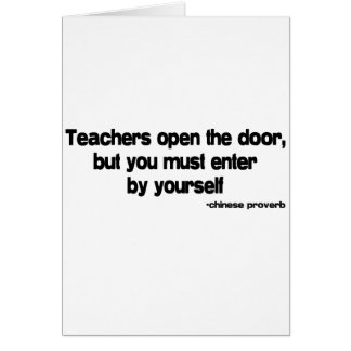 Teachers quote cards
