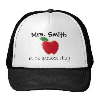 Teacher's Recess Duty Hat