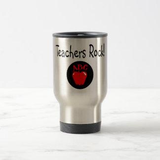 Teachers Rock Apple Mugs