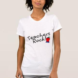 Teachers Rock Apple T-shirts